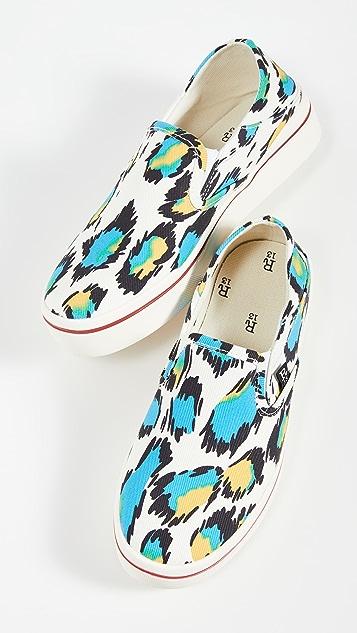 R13 Slip On Sneakers