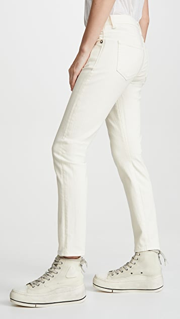 R13 Mid-Rise Boy Skinny Jeans