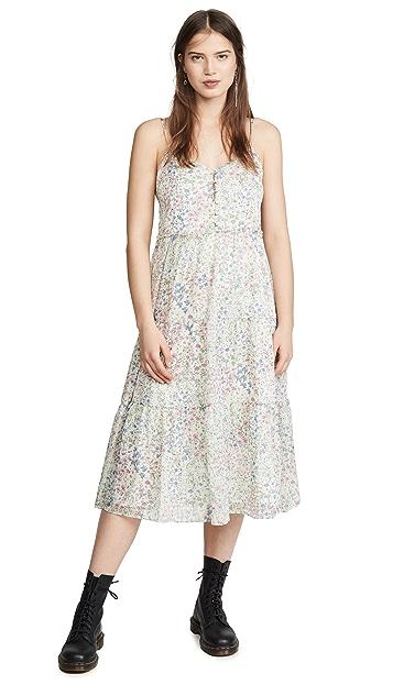 R13 中长层褶衬裙