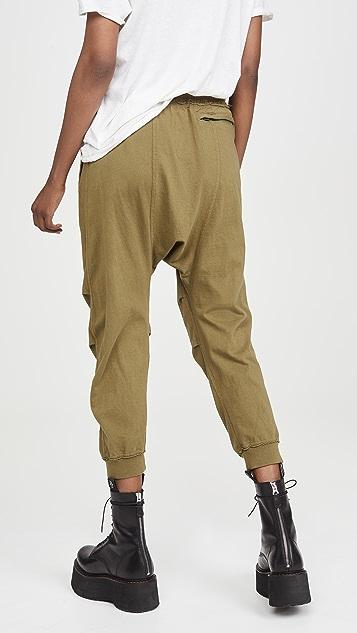 R13 低腰运动裤