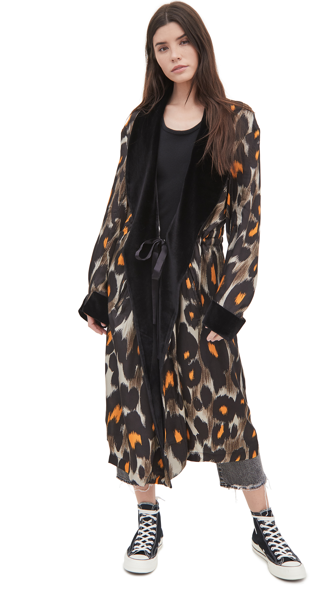R13 Robe With Cinched Waist