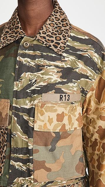R13 Abu 短款夹克
