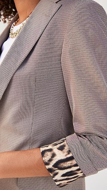 R13 翻折袖口西装外套