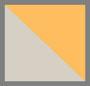 灰色/橙色豹纹