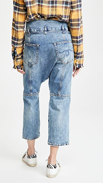 R13 Staley Cross Over Jeans