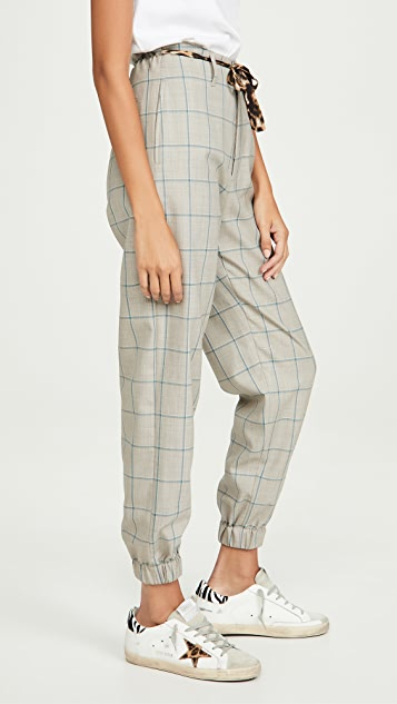 R13 Pants With Cinched Waist