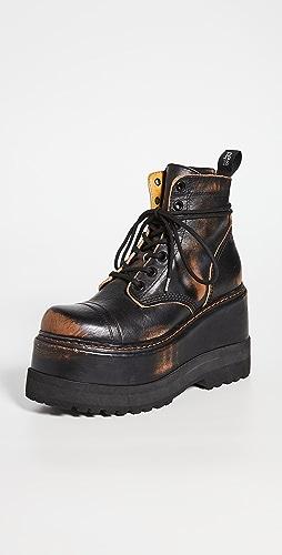 R13 - 厚底短靴