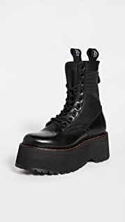 R13 Double Stack Boots