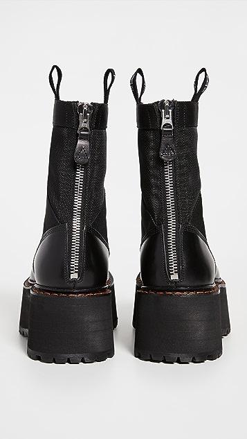 R13 双层层叠靴子