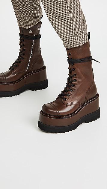 R13 厚底靴