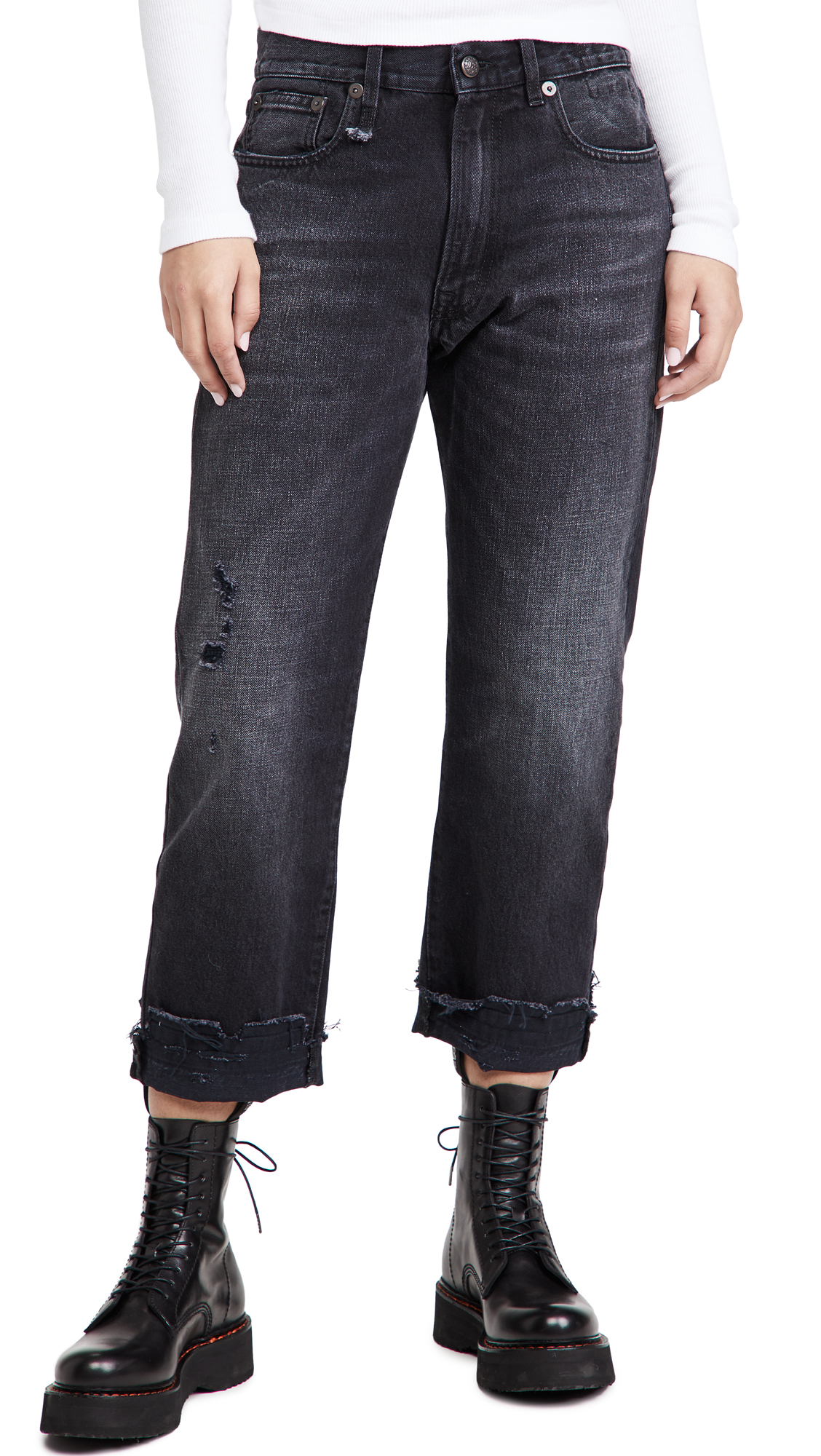 R13 Slouchy Jeans