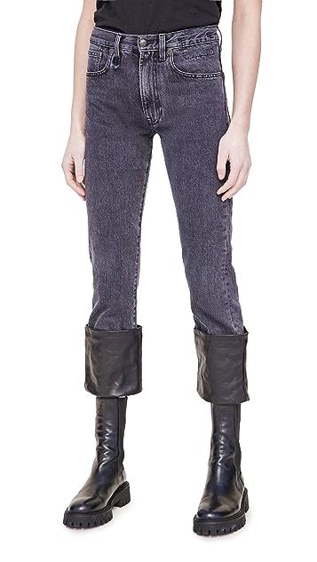 R13 Axl Slim Jeans with Cuff