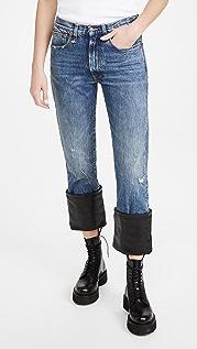 R13 Axl Slim Jeans W/ Cuff