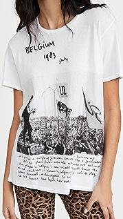 R13 U2 比利时男孩风 T 恤
