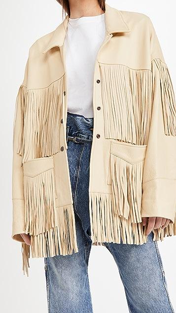 R13 Fringe Jacket