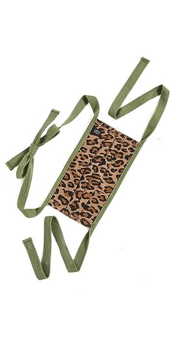 R13 Leopard Face Covering - Surplus Leopard
