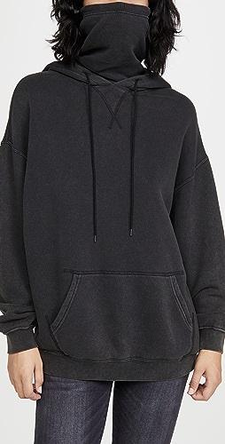 R13 - #MaskUp Vintage Fleece Hoodie