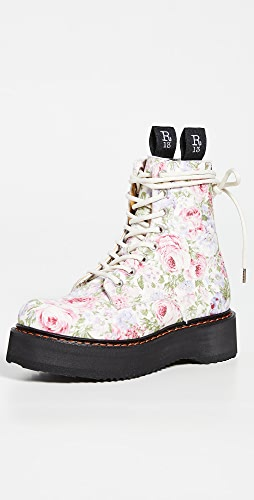 R13 - Single Stack Lace-up Boots