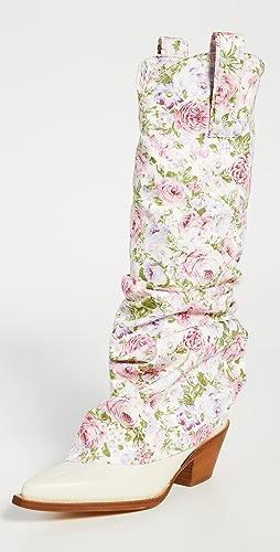 R13 - Mid Cowboy Sleeve Boots