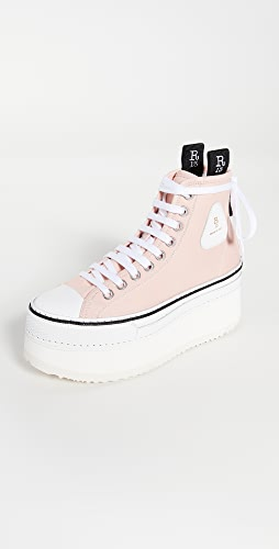 R13 - Platform High Top Sneakers