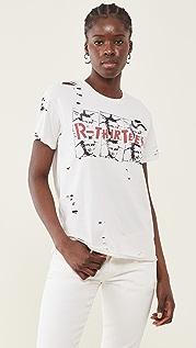 R13 R13 Mona Lisa Boy T 恤