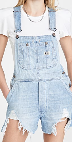 R13 - Overall Shorts