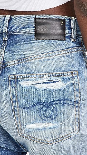 R13 Marky Drop 短裤