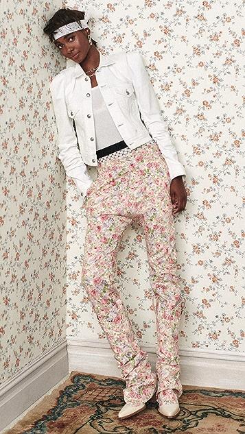 R13 工装低腰牛仔裤