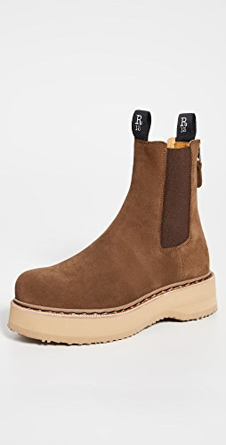 R13 - Single Stack Chelsea Boots