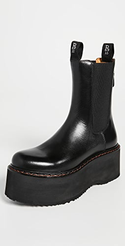 R13 - Double Stack Chelsea Boots