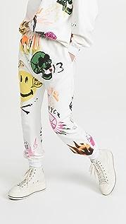 R13 Graffiti Sweatpants