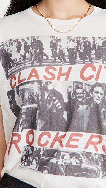 R13 Clash City Boy T 恤