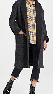 R13 Raw Cut Coat