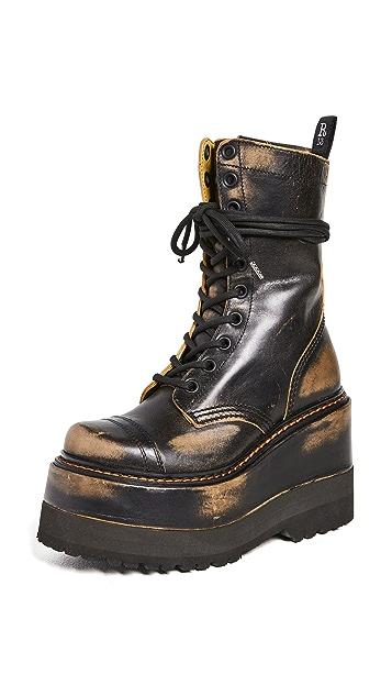 R13 Platform Boots