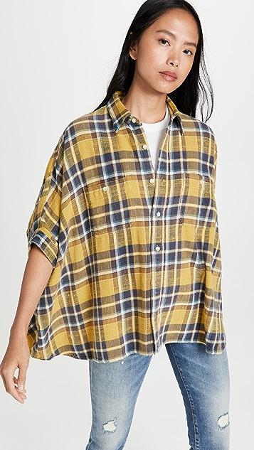 R13 Oversized Boxy Shirt
