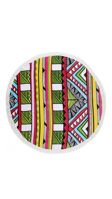 Round Towel Co. The Tropicana Towel