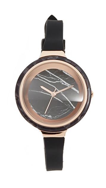 RumbaTime Orchard Marble Lights Out Watch