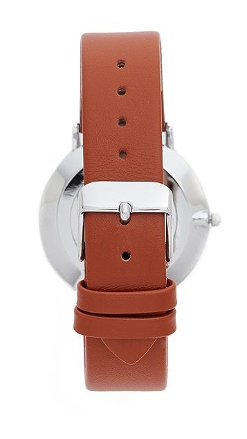 RumbaTime SoHo Leather Hazlenut Watch