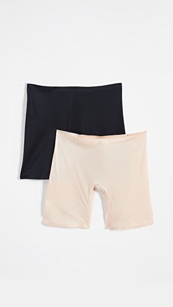 Real Underwear Fusion Bare Leg Shorts 2 Pack