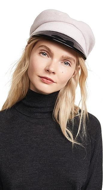 Ruslan Baginskiy Wool Newsboy Hat