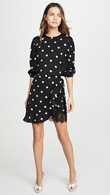 Rebecca Vallance Penelope Long Sleeve Mini Dress