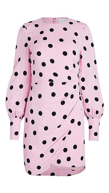 Rebecca Vallance Mattel Long Sleeve Mini Dress