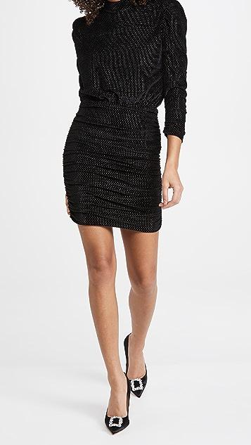 Rebecca Vallance Viper Long Sleeve Mini Dress
