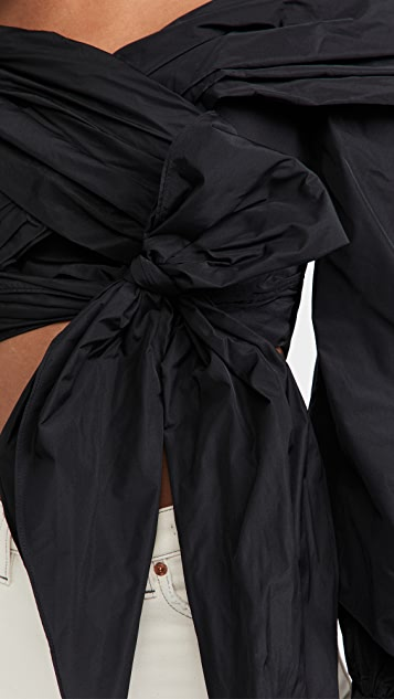 Rebecca Vallance Rosalie Wrap Top