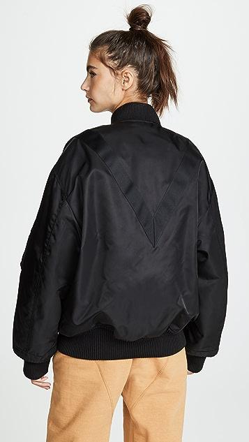 Reebok x Victoria Beckham RBK VB Oversized Bomber Jacket