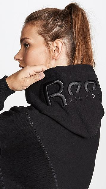 Reebok x Victoria Beckham Укороченная толстовка с капюшоном RBK VB
