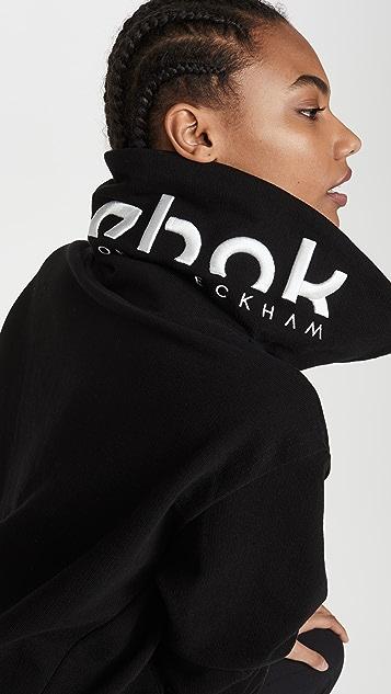 Reebok x Victoria Beckham RBK VB Cropped Cowl Sweatshirt
