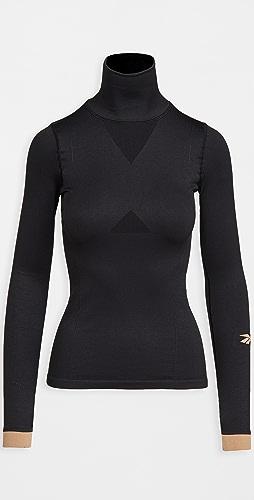 Reebok x Victoria Beckham - Seamless Long Sleeve Top