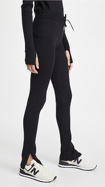 Reebok x Victoria Beckham 针织贴腿裤