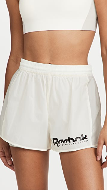 Reebok x Victoria Beckham 二合一短裤